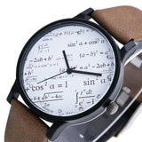 Mathophile ™ Perfect Math Watches for Engineers , Math & Science Lovers