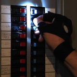 Electrika™ : Exclusive LED Flashing Gloves for Electrician, Technician & Plumbers.
