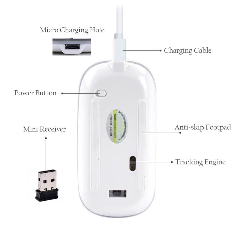 rechargeable wireless mouse from electrical technology