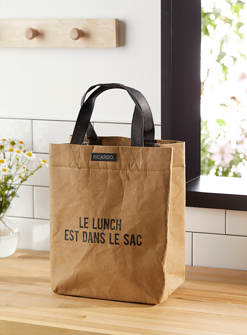 Sac à lunch écolo