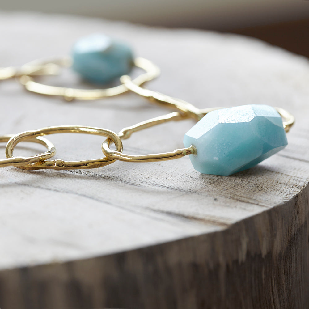 Collier veritable turquoise