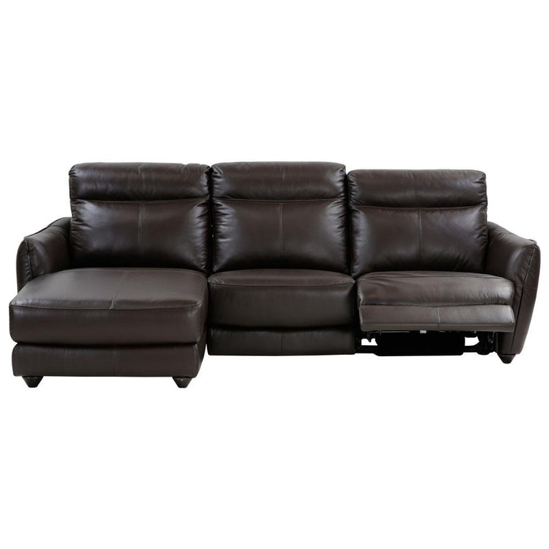 ATLAS SECTIONAL B DK BROWN  RAF LS PWR REC , LAF CHAISE AN-727B