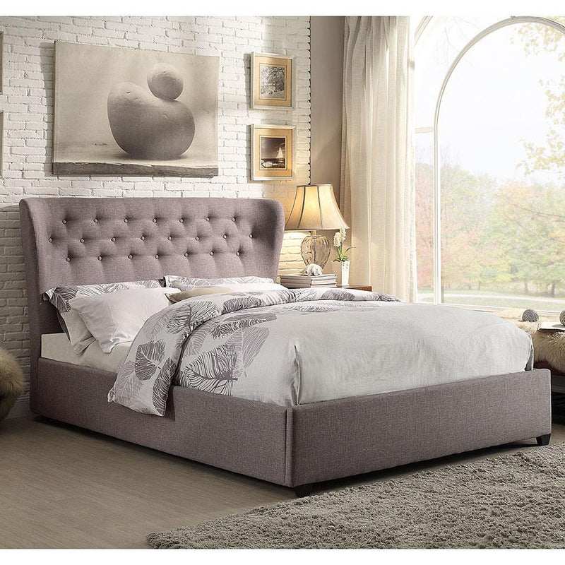 KING BED MARILYN 1883 GRAY