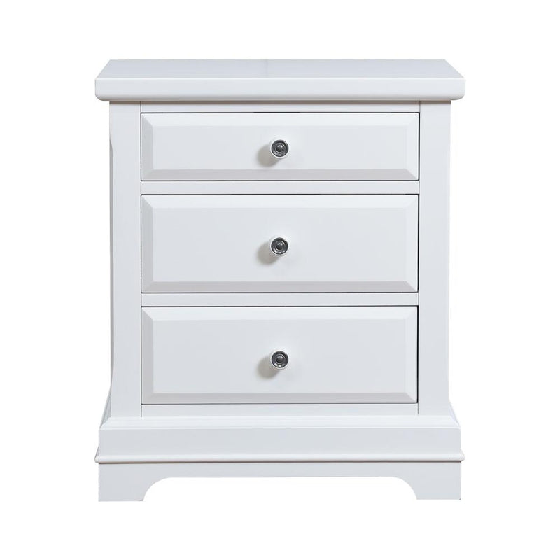 NIGHTSTAND BAYFRONT 1415-040 WHITE