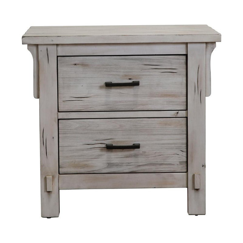 NIGHT STAND GRETCHEN 1907W-4ANTIQUE WHITE