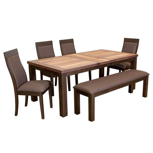 Mason 6PC Bench Dining Set