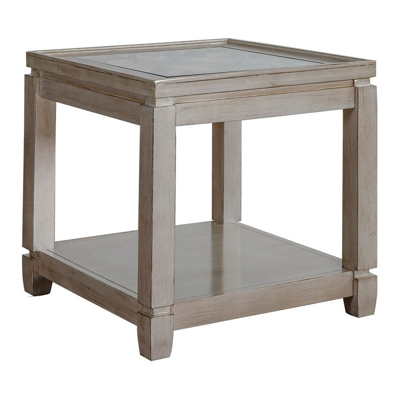 ELEANOR END TABLE VINT. SILVER 1551-3