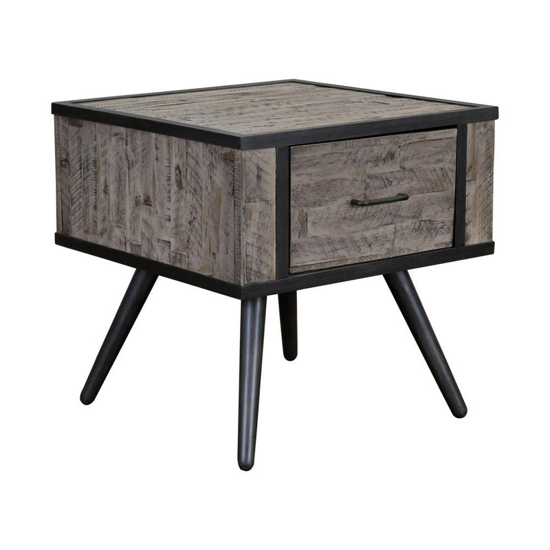 JAYCEE END TABLE GREY WASH 1640-3