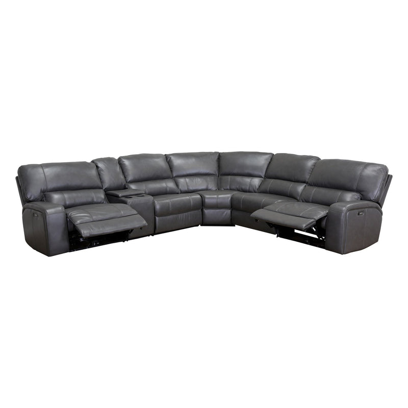 NOVA 6PC PWR REC  SECTIONAL GRAY 53745