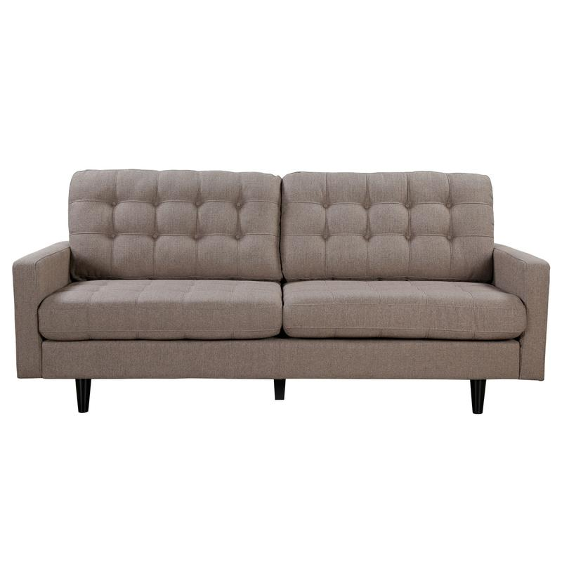 PRESTON SOFA BROWN  505377