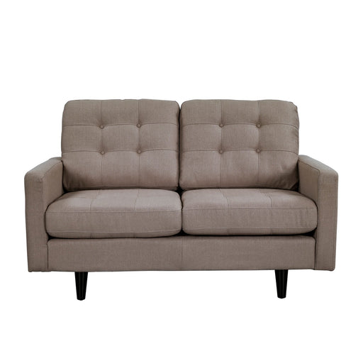 PRESTON LOVE SEAT BROWN  505378