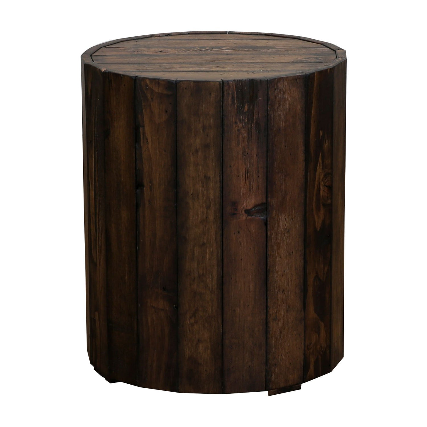 BROOKS END TABLE T4017 05 RUSTIC PINE