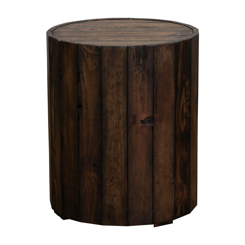 BROOKS END TABLE T4017-05 RUSTIC PINE