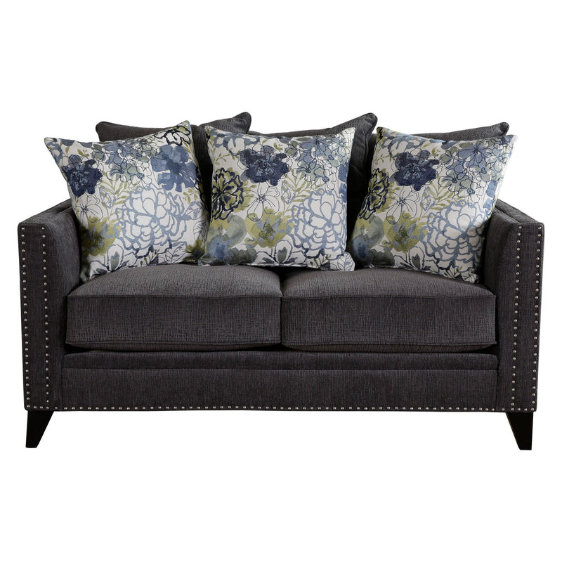 REGENT LOVESEAT  PERTH SMOKE