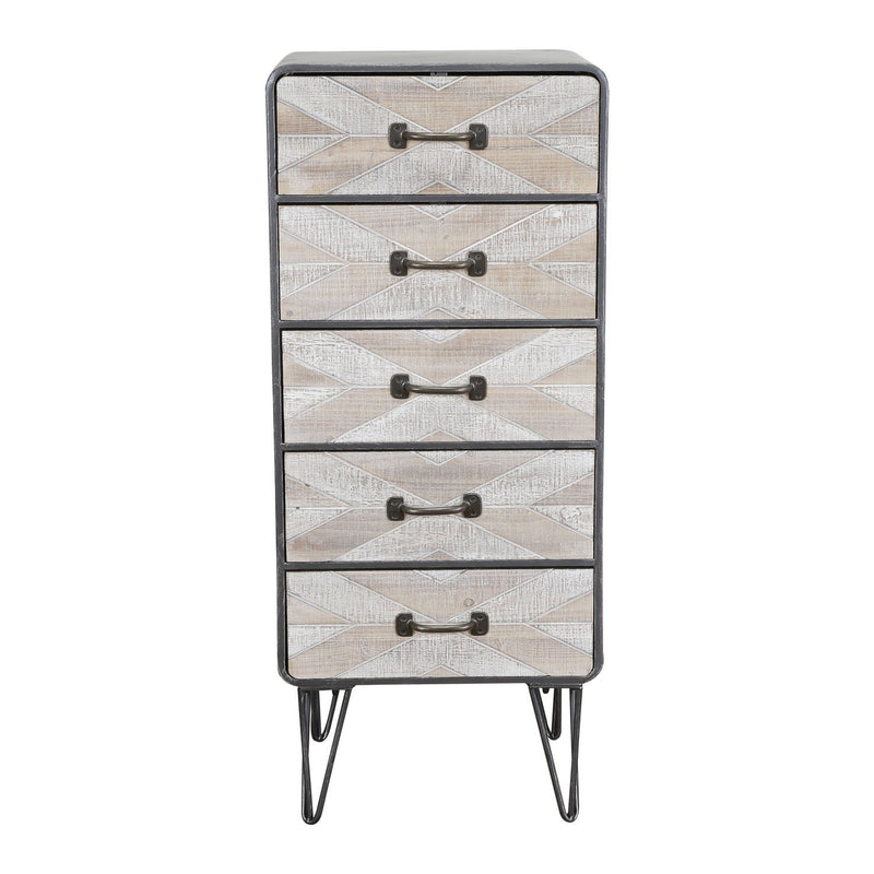 Morrison Collection 5 Drawer Chest - Black