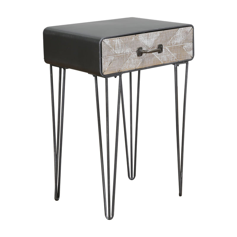 Morrison Collection End Table - Black