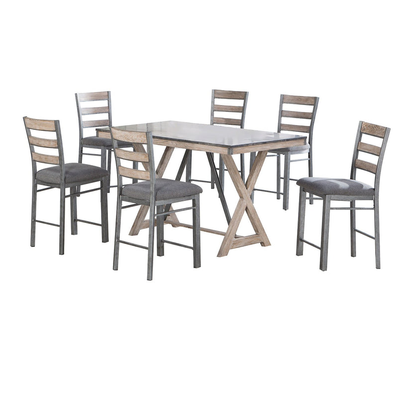 Tessa Collection Dining Set - Counter Height