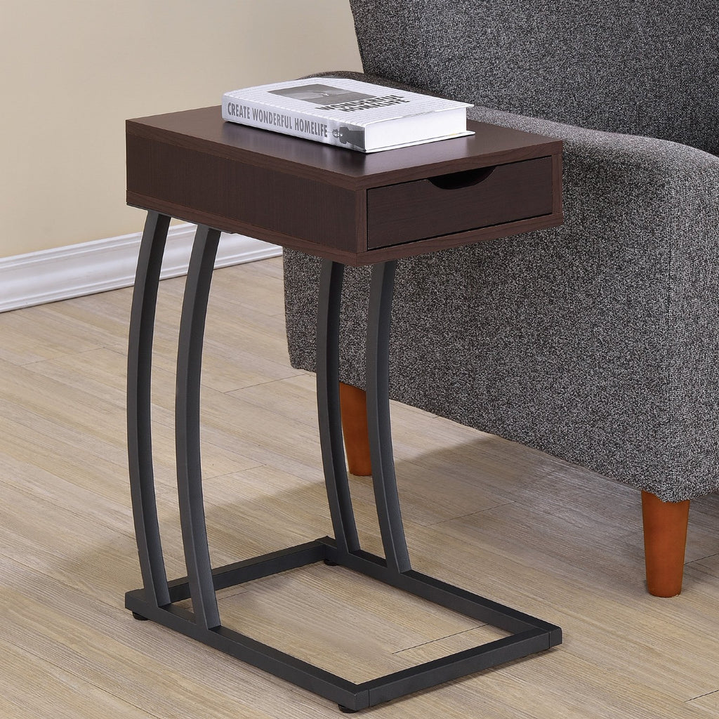 Venice Accent Table - Cappuccino