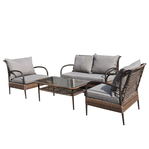 Lanikai 4-Piece Lounger Set