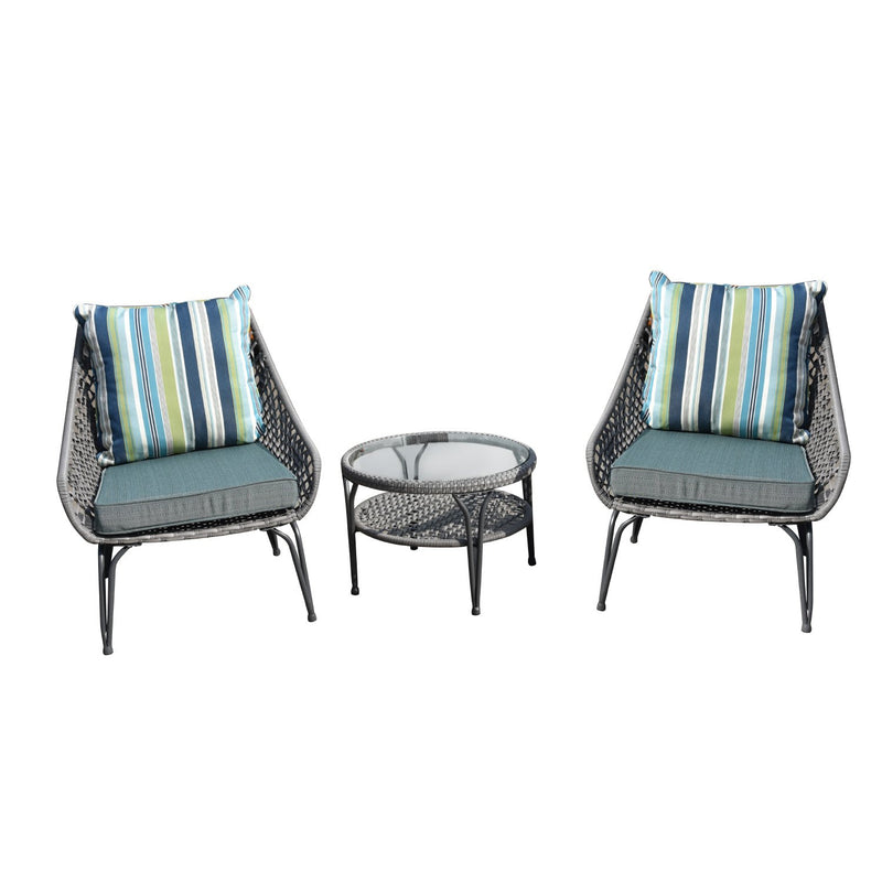 Wailea Patio 3 Pieces Set