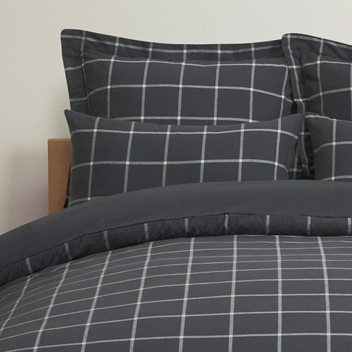 DUVET COVER CHECK GY F/Q