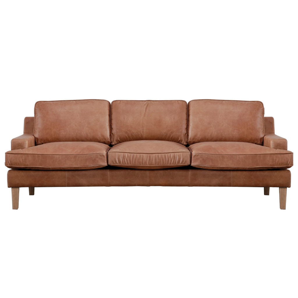 HYDE SOFA NATURAL WASHED CAMEL