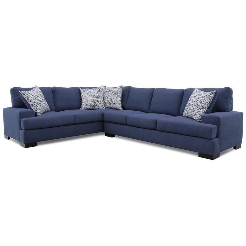CHEROKEE 2PC SECTIONAL  DERBY NAVY