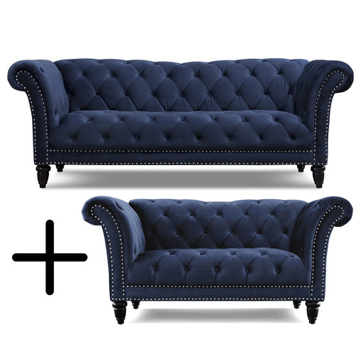 Victoria 2PC Sofa Loveseat Set