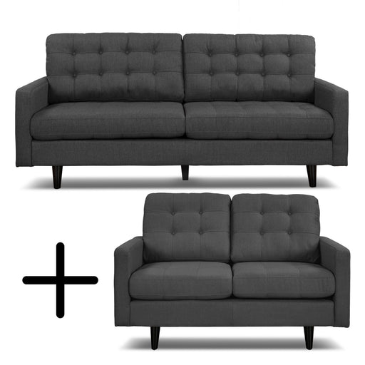 Preston 2PC Sofa Loveseat Set
