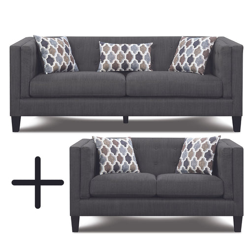 Skyler 2PC Sofa Loveseat Set