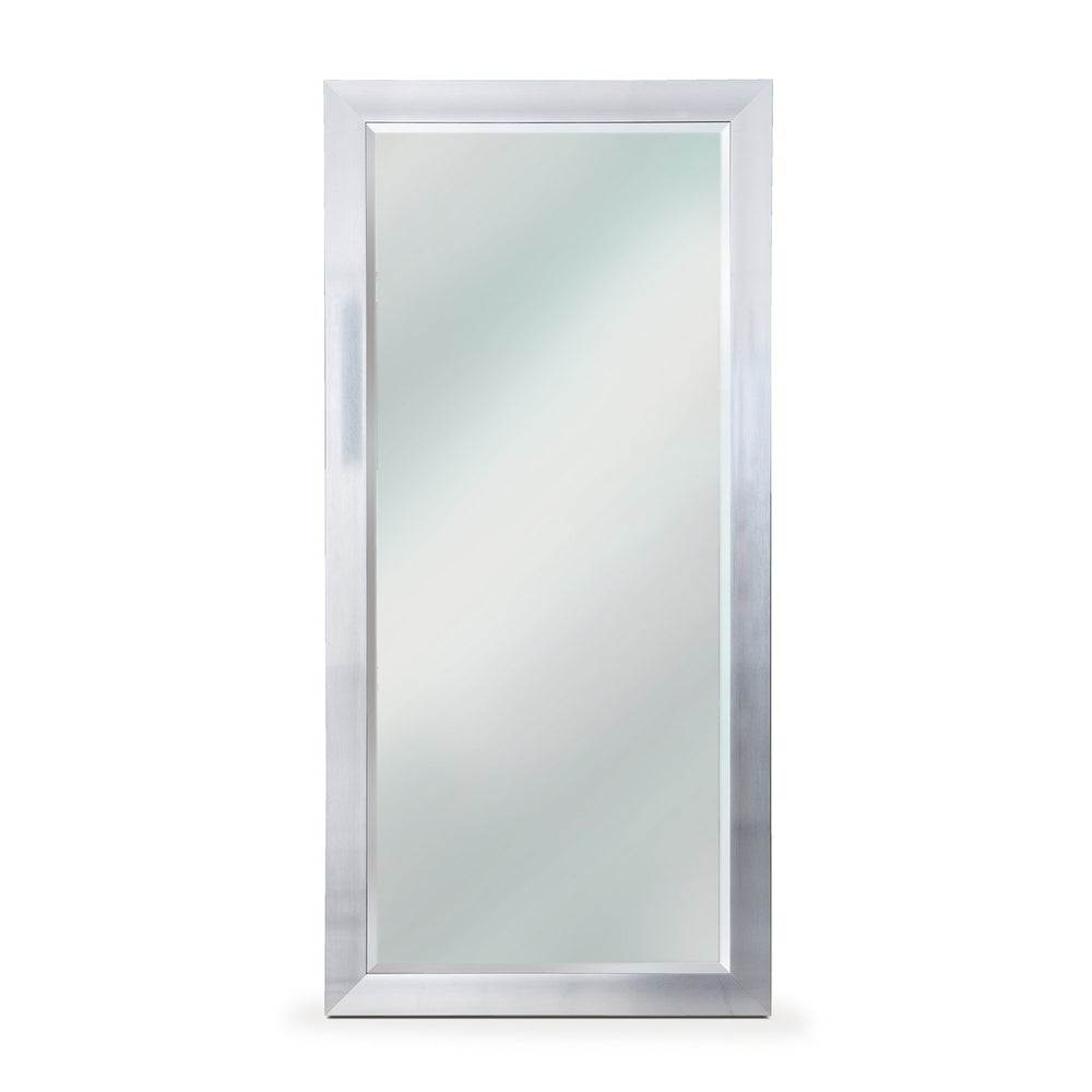 Soft Silver Leaner Mirror