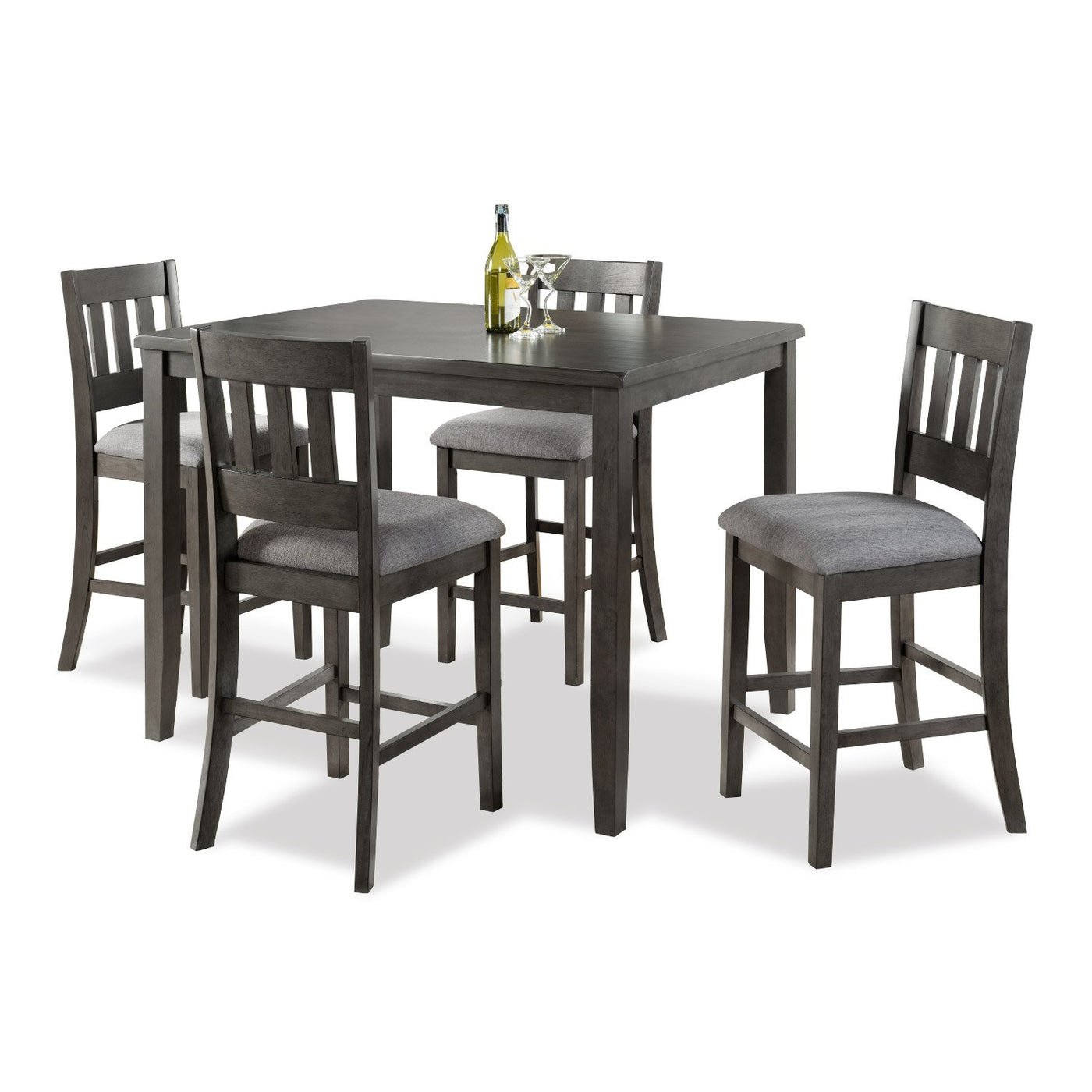 Raymond 5 Pc. Counter Height Dining Set