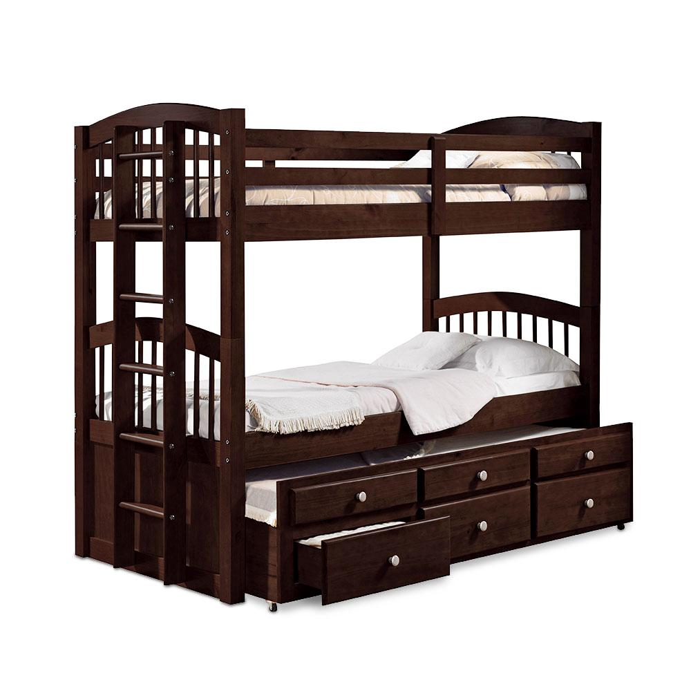 Patrick Twin/Twin Bunk Bed With Storage