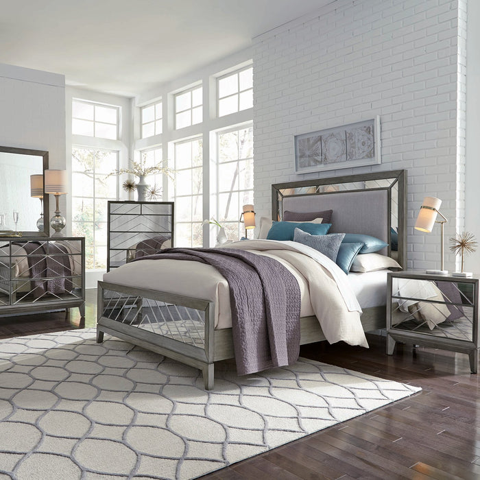 KING BED VIENNA GRAY