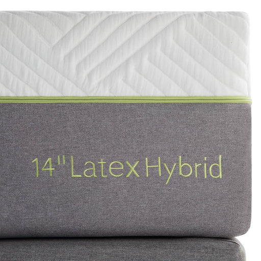 "Crescent Bay 14"" Latex Hybrid Mattress"