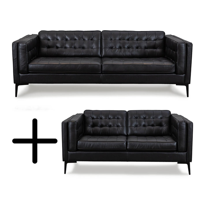 Marvelous Genova Sofa Loveseat Set Gmtry Best Dining Table And Chair Ideas Images Gmtryco