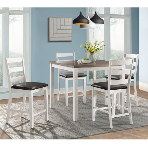 Raelynn 5PC Counter Height Dining Set