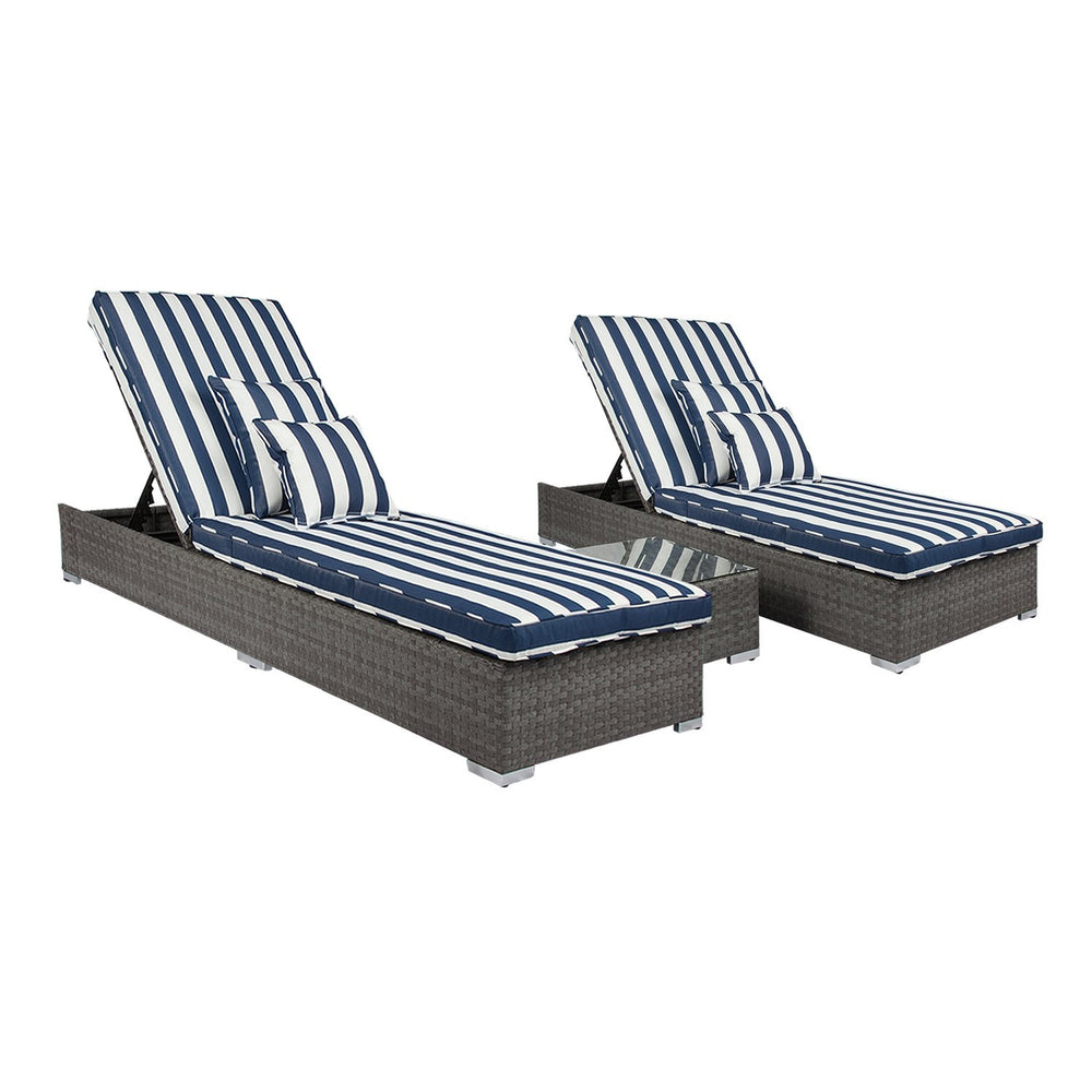 Santorini 3-Piece Outdoor Set