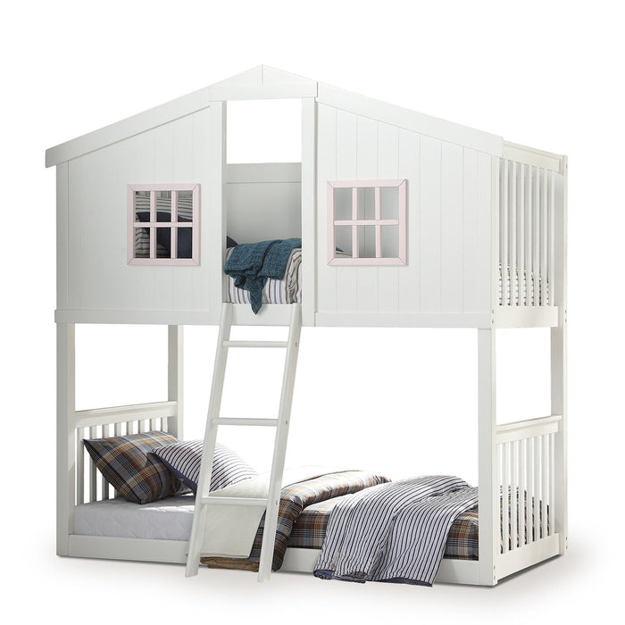 Doll House Twin Bunkbed