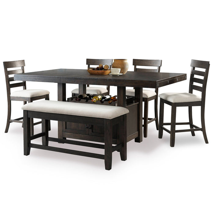 Fantastic Aspen 8 Piece Counter Height Dining Set Ncnpc Chair Design For Home Ncnpcorg