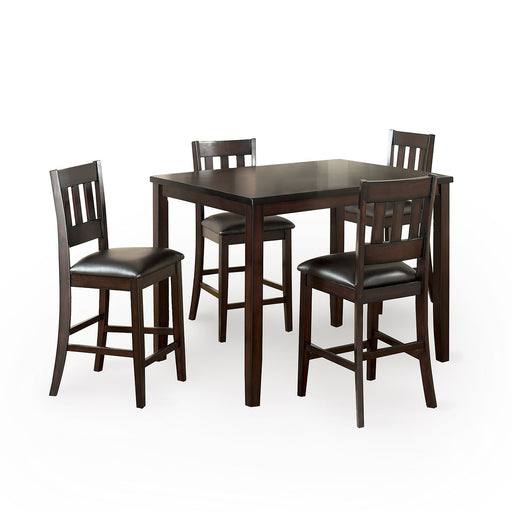 Brandon 5PC Counter-Height Dining Set