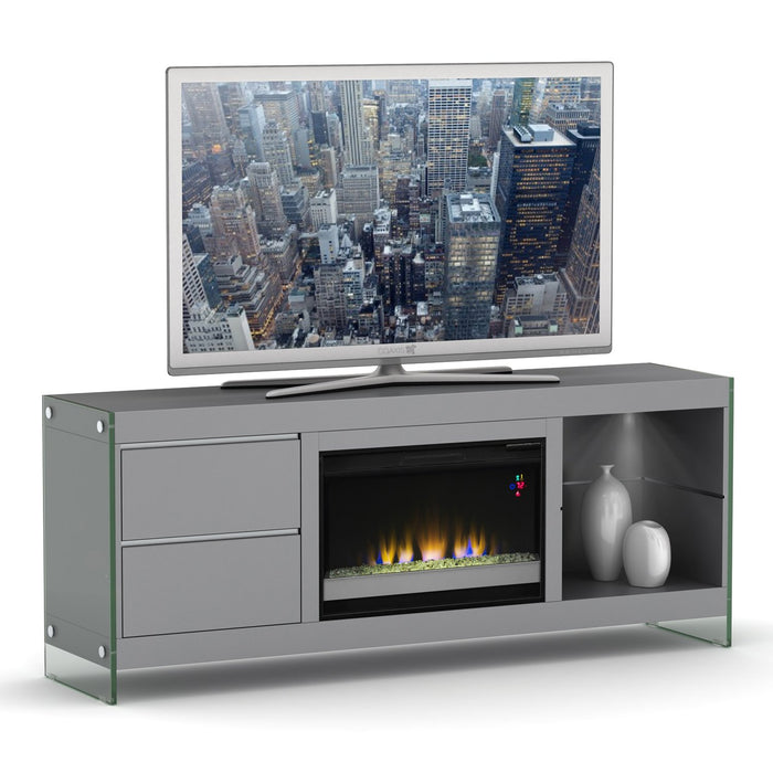 Ashford Media Console with Fireplace