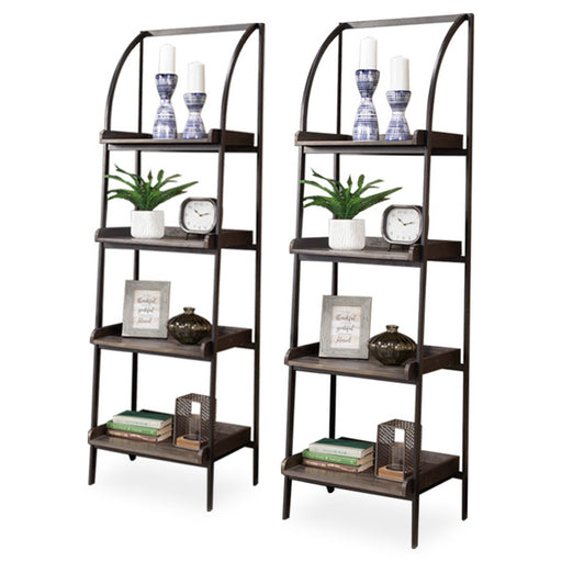 Brookside Pair of Bookcase Piers