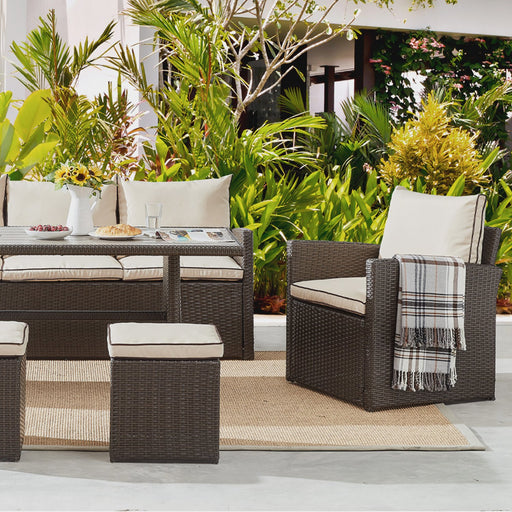 Cambria 6PC Outdoor Dining Set