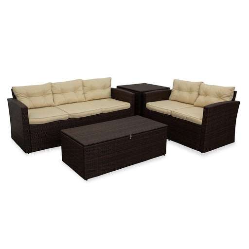 Manaco 4PC Love Lounge Set