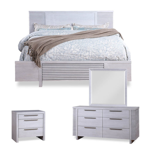 Willow Cove 4PC Platform Storage Bed Set