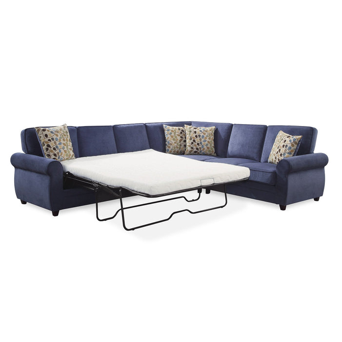 Gianna Queen Sleeper Sectional