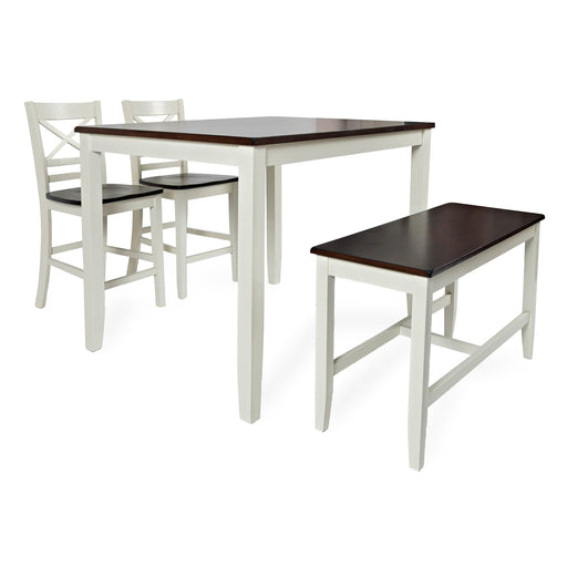 Abilene 4PC Counter Height Dining Set