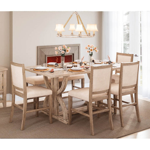 Arendelle 6PC Counter Height Expandable Dining Set