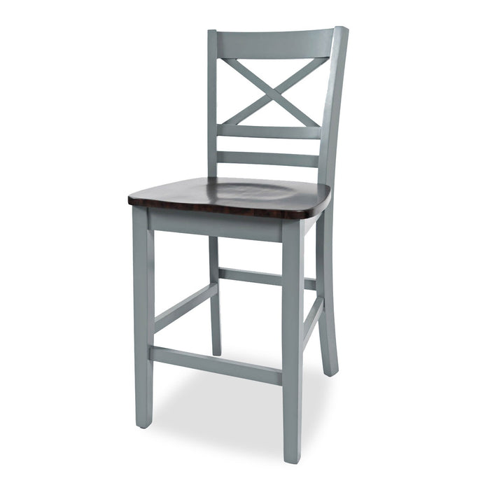 Abilene X-Back Counter Height Stool